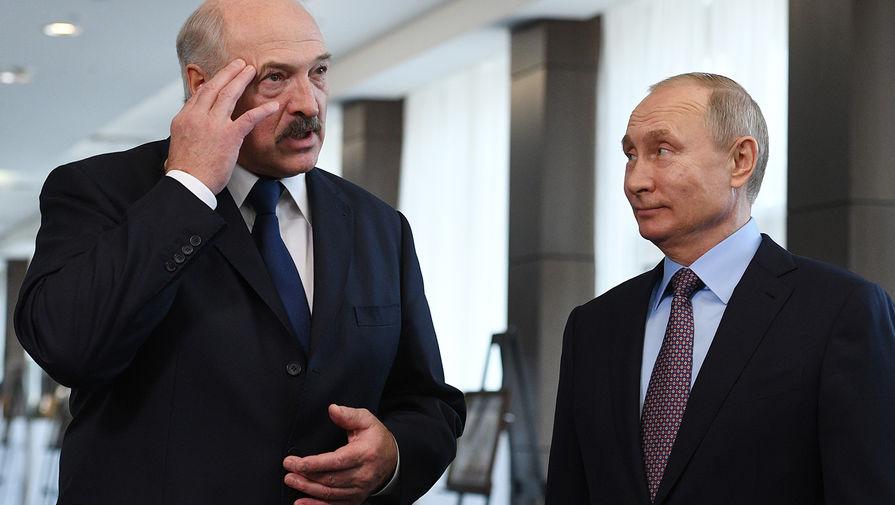 «Ничего у нас не искрит!»: Лукашенко рассказал о разговоре с Путиным