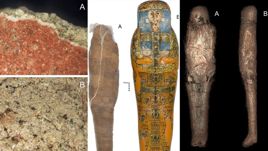 Ученые обнаружили еще один способ хранения мумий в Египте