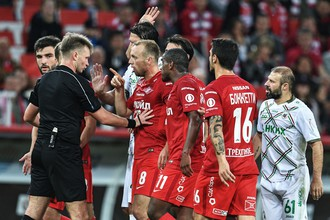 «Спартак» одержал победу над «Рубином» в матче девятого тура РФПЛ благодаря голу Квинси Промеса