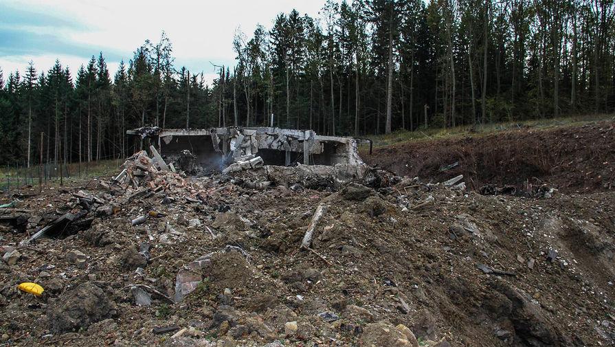 В ФРГ увидели нестыковки в версии Чехии о взрывах в Врбетице