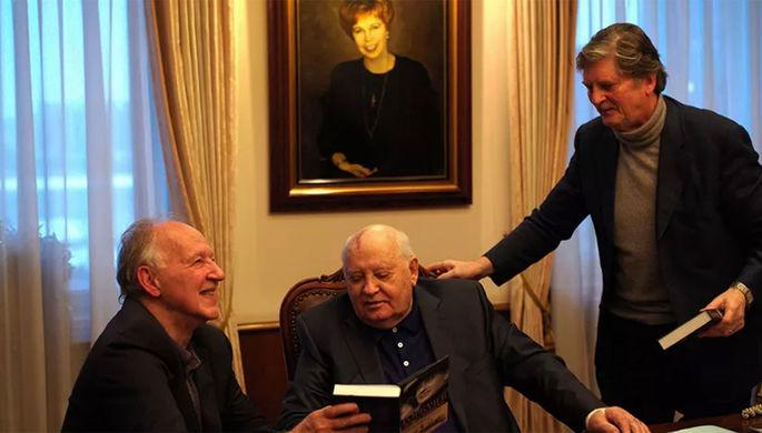 Кадр из фильма «Встреча с Горбачевым» (2018)