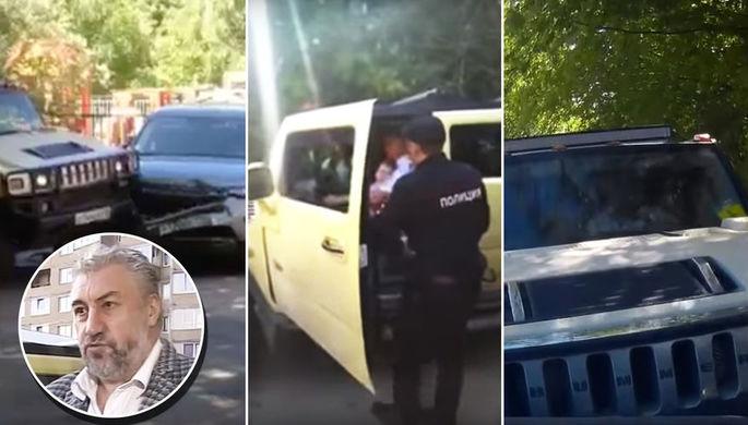 «Это хулиганы»: как Челентано на Hummer давил Land Rover