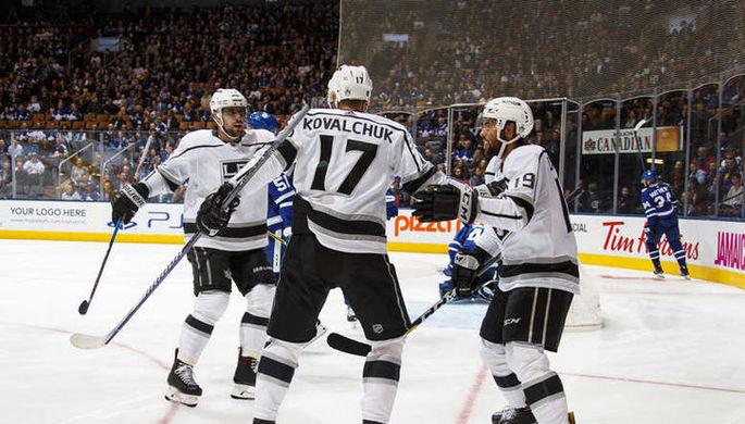 Российский нападающий клуба НХЛ «Лос-Анджелес Кингз» Илья Ковальчук