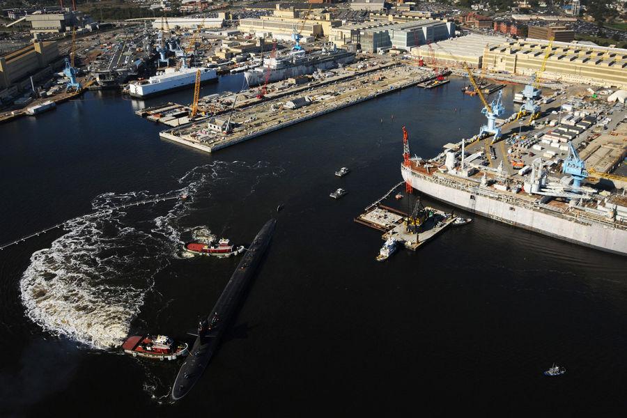 Norfolk Naval Shipyard- верфь ВМС США вПортсмуте (штат Виргиния)