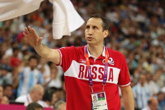 Главный тренер сборной России- Дэвид Блатт