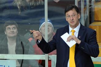 Сергей Светлов сказал, что «Атлант» прибавил в игре в большинстве