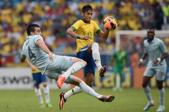 Сборная Бразилии играючи переиграла Фарнцию