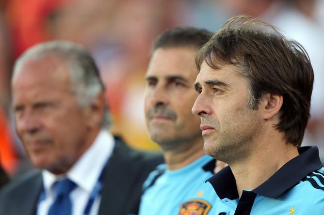 Главный тренер сборной Испании U21 Хулен Лопетеги.