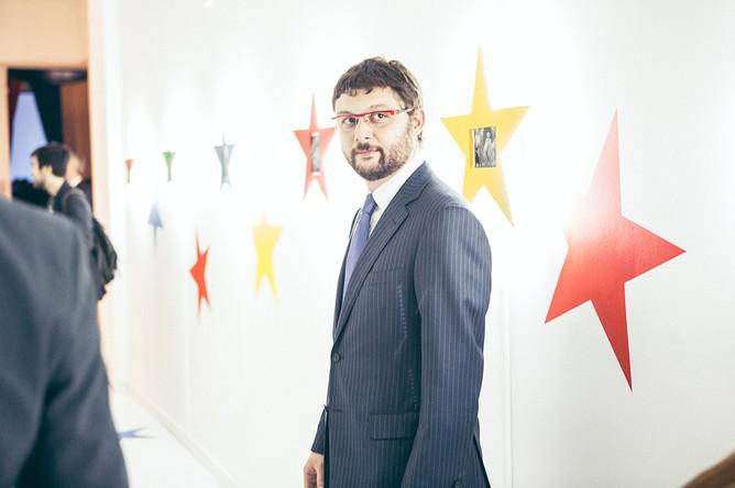 Василий Церетели — исполнительный директор Московского музея современного искусства