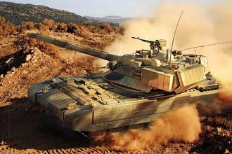 Предполагаемая модель танка «Армата»
