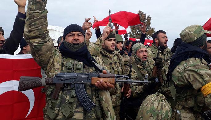 «Оливковая ветвь»: зачем Турция начала новую войну в Сирии