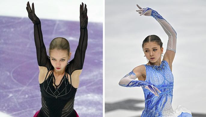 Александра Трусова и Камила Валиева