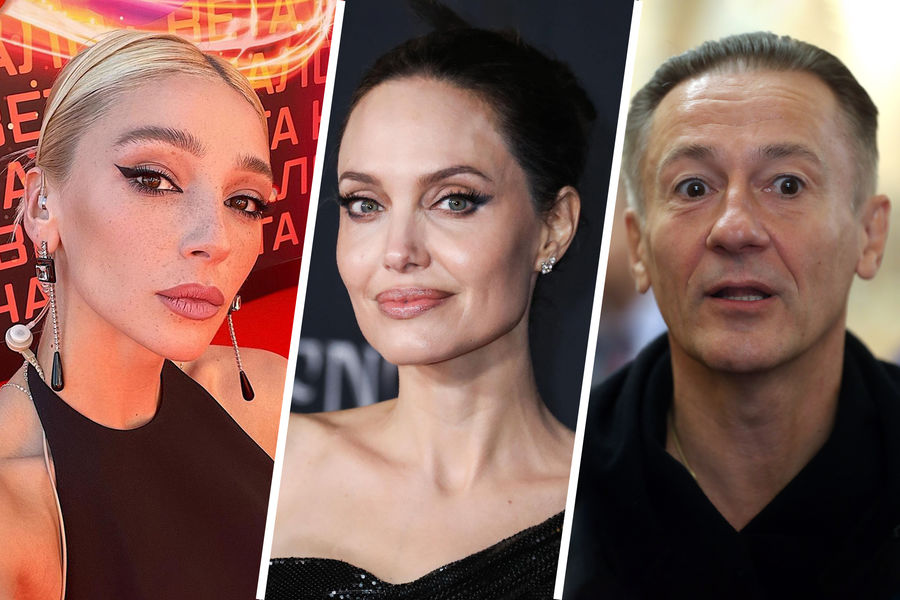 Анастасия Ивлеева, Анджелина Джоли и Олег Меньшиков