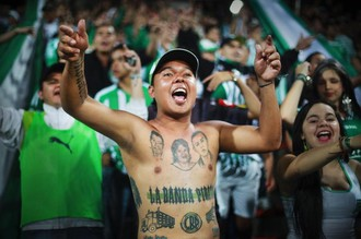 Колумбийские фанаты