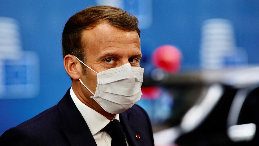 Макрон посетит Россию сразу, как только позволит ситуация с коронавирусом