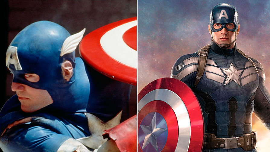 Капитан Америка (1990) и (2016)