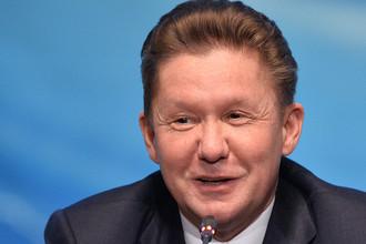 Председатель правления, заместитель председателя совета директоров ПАО «Газпром» Алексей Миллер
