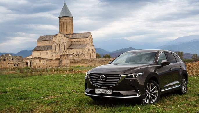 Mazda СX-9: тише-тише