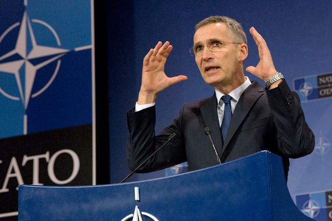 Генеральный секретарь НАТО Йенс Столтенберг, 2017 год