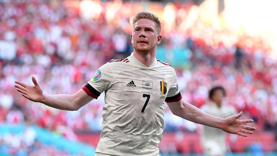 Де Брёйне вышел на замену и принес Бельгии победу над Данией в матче Евро-2020