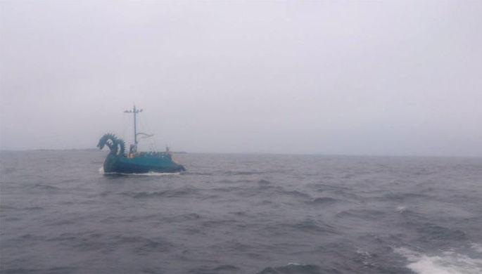 «Трехголовый монстр»: финны не узнали российскую яхту