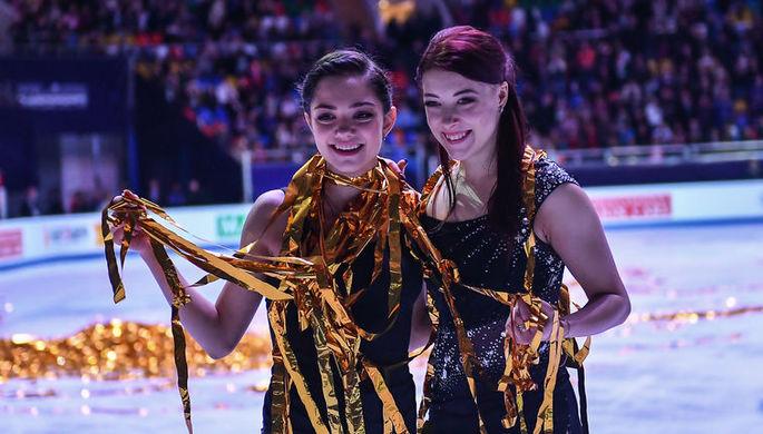 Фигуристки Евгения Медведева и Екатерина Боброва