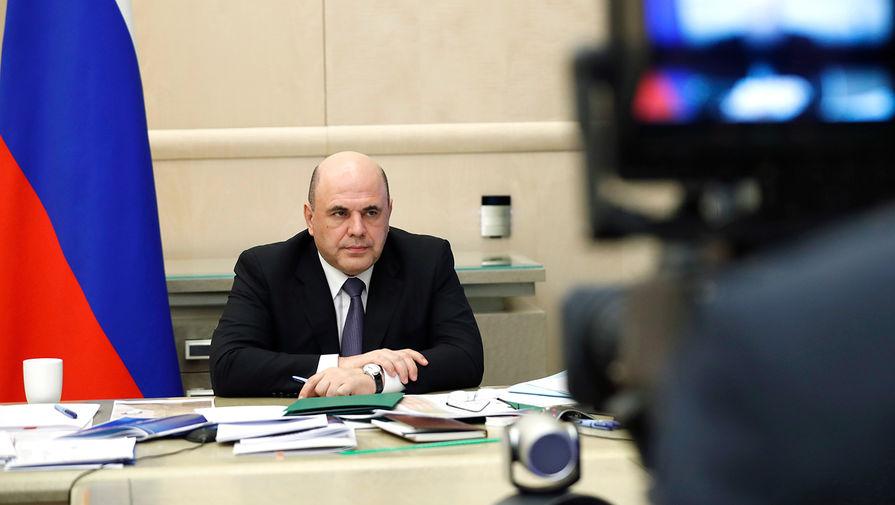 Мишустин не будет участвовать в совещании Путина по коронавирусу