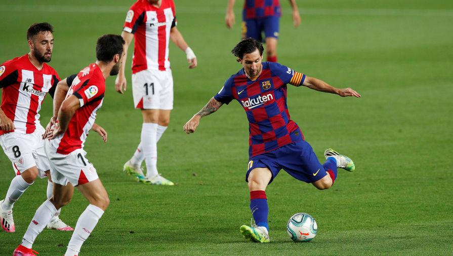 Эпизод матча «Барселона»- «Атлетик»
