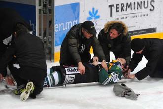 Ронни Келлер получил тяжелую травму позвоночника