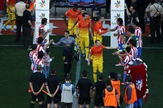 Чемпионский выход «Барселоны»
