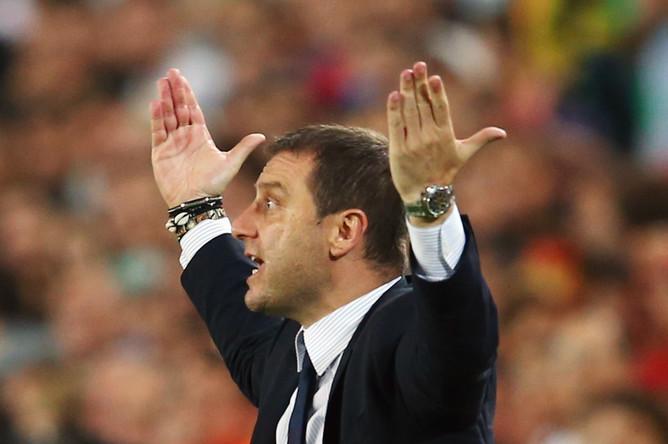 Главный тренер сборной Италии U21 Дэвид Манджа.