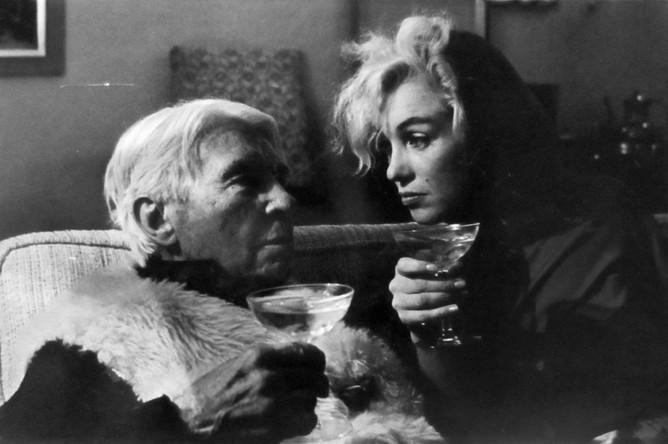 Карл Сэндберг и Мэрилин Монро. 1962