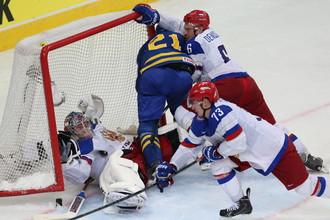 Россия против Швеции