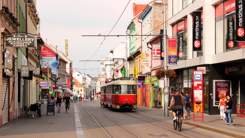 Улица Братиславы, Словакия