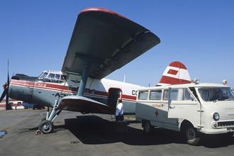 Самолет санитарной авиации Ан-2, 1981 год