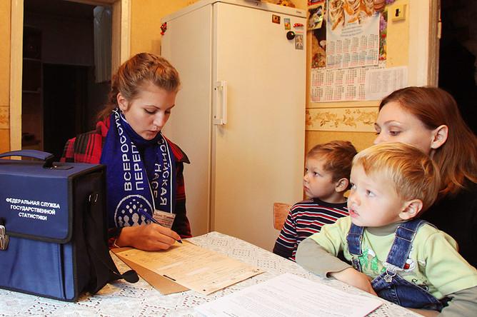 Численность жителей России сократилась по сравнению с итогами переписи 2002 года