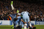 «Манчестер Сити» победил «Монако» в матче плей-офф Лиги чемпионов