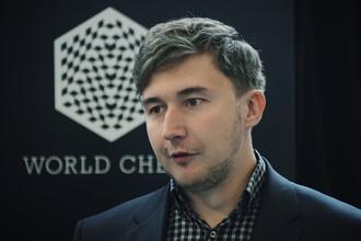 Сергей Карякин посетил Гран-при в Москве