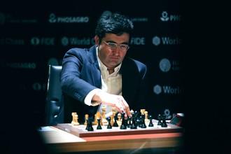 Владимир Крамник в Берлине во время турнира претендентов