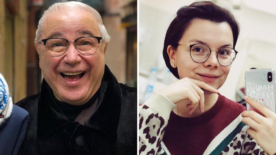 Евгений Петросян и Татьяна Брухунова (коллаж)