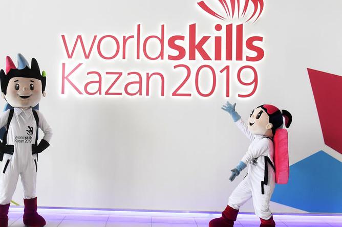 Алтын и Аламаз- официальные талисманы 45-го мирового чемпионата мира по профессиональному мастерству WorldSkills Kazan 2019
