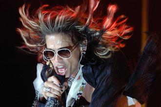 Солист группы Aerosmith Стивен Тайлер
