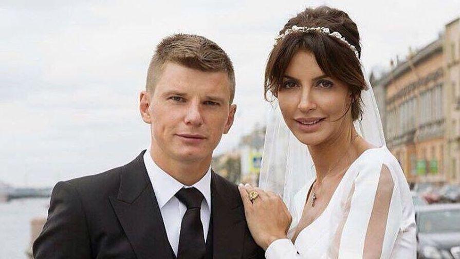Жена Аршавина побывала надопросе вМВДпоповоду заявления насупруга