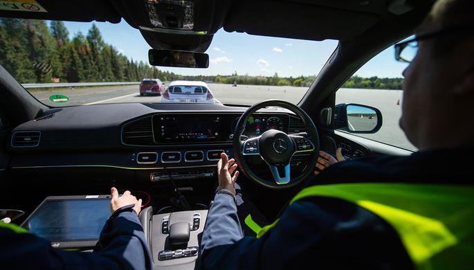 В Британии разрешат езду беспилотных автомобилей. Но скорость будет ограничена 60 км/ч