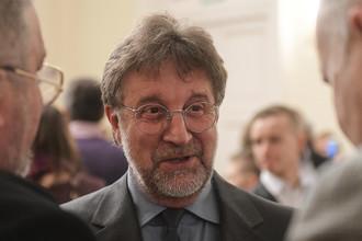 Леонид Ярмольник перед премьерой фильма Валерия Тодоровского «Большой» в Большом театре, 17 апреля 2017 года
