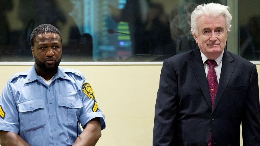 Суд приговорил Радована Караджича к пожизненному заключению