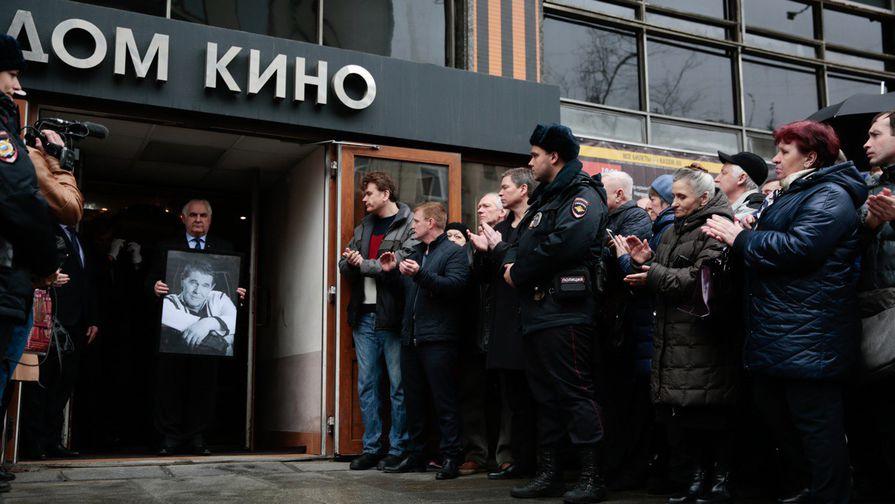 В Москве прошла церемония прощания с Алексеем Булдаковым