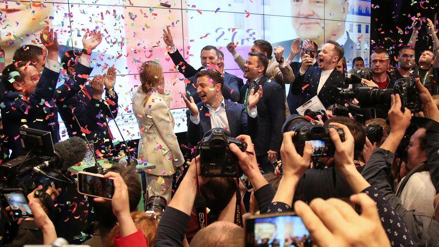 Разгром Порошенко: Зеленский побеждает с 73%
