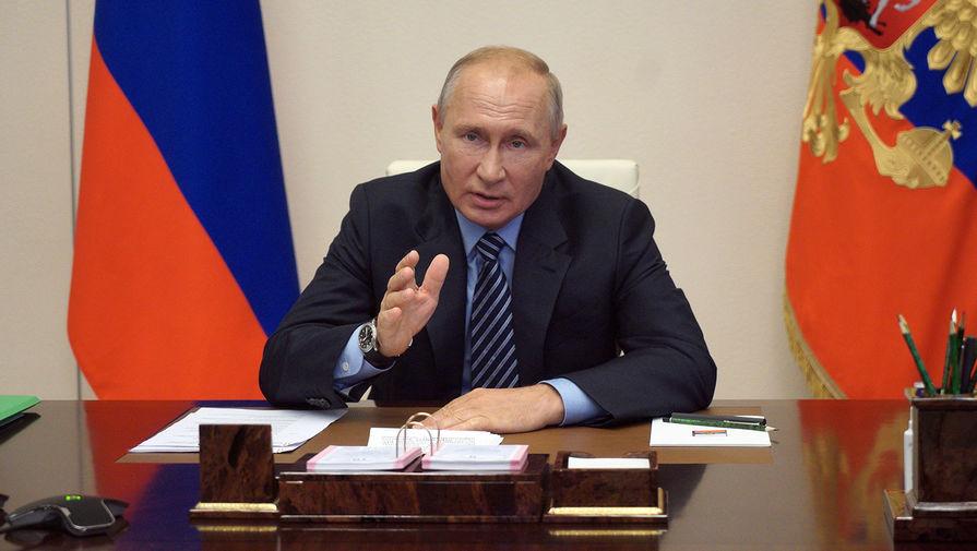 Путин заявил, что ситуация с коронавирусом в России успокаивается