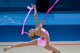 15-летняя Яна Кудрявцева — абсолютная чемпионка мира по художественной гимнастике